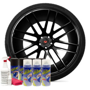 Friction Auto Concepts Gloss Black Wheel Kit
