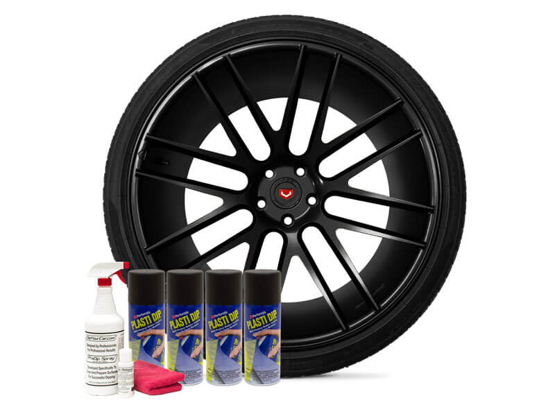 Friction Auto Concepts Matte Black Wheel Kit
