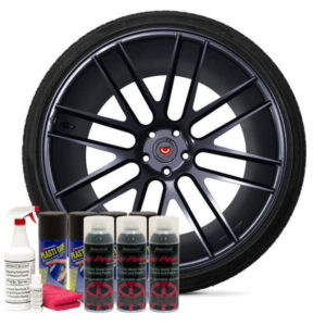 Friction Auto Concepts Obsidian Black Wheel Kit