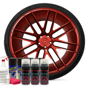 Friction Auto Concepts Real Red Wheel Kit