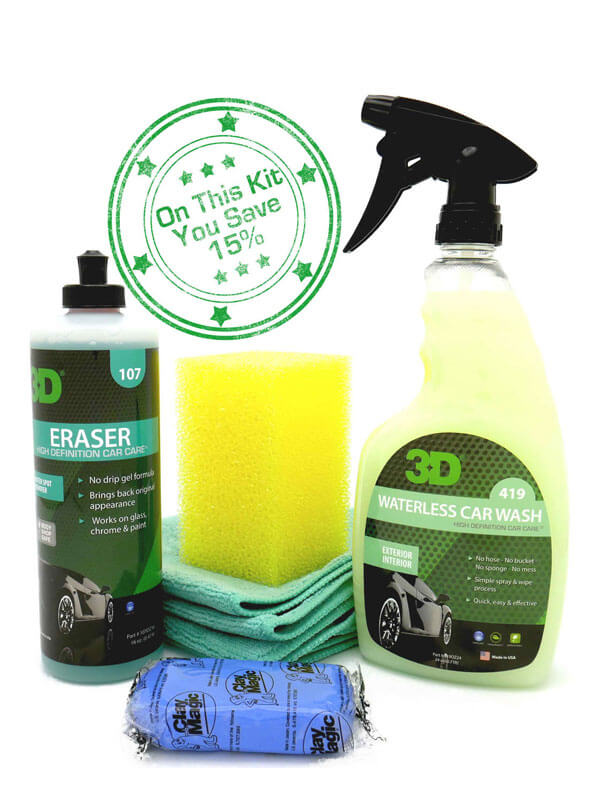 Hard Water Spot Remover Kit