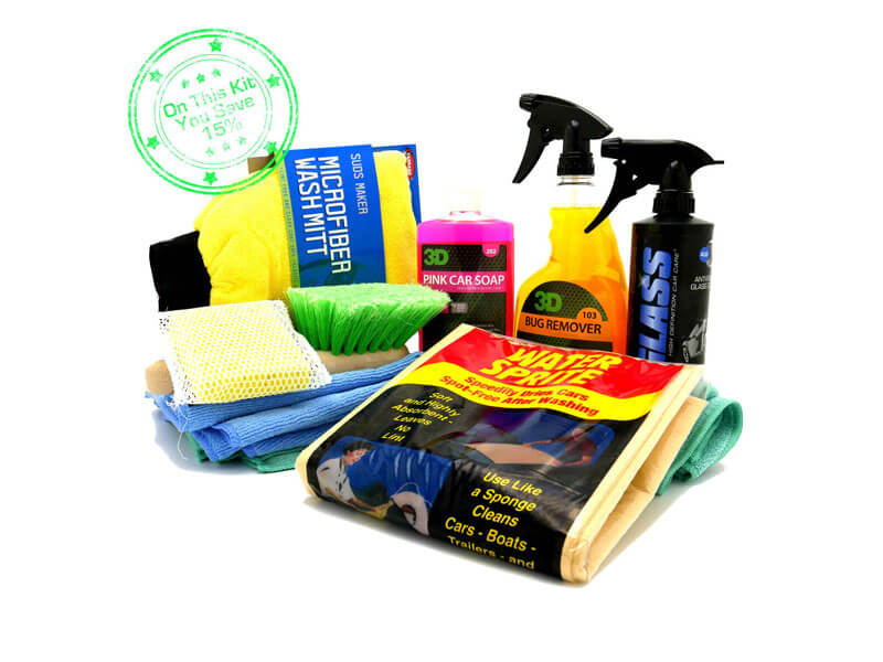 Heavy Duty Car Washing Kit