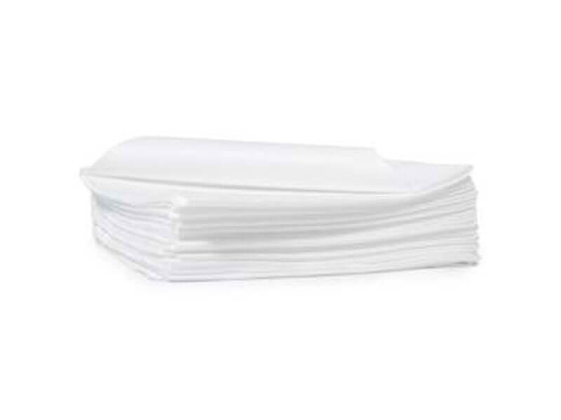 Towel Microfiber Disposable White 13x22 Pack 12